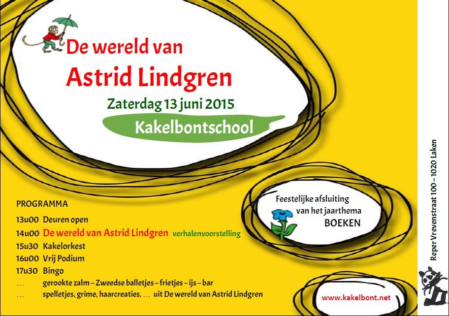Uitnodiging 13 juni 2015 KAKELBONT